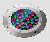 GXR3 250mm 36x1W LED colour change st steel bezel