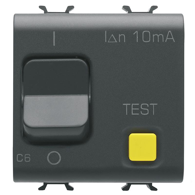 RCBO 1P+N C6 10mA 230V ac 3KA B.