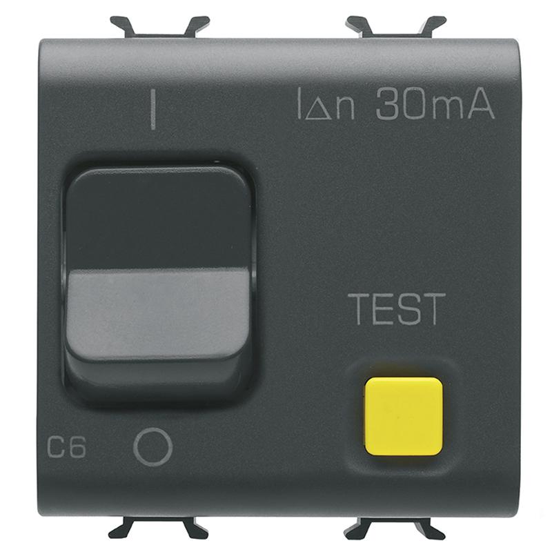 RCBO 1P+N C6 30mA 230V ac 3KA B.