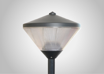 Civica- 140W Outdoor aluminium finished lamp