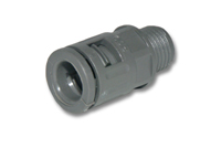 Cable gland for splitter tube