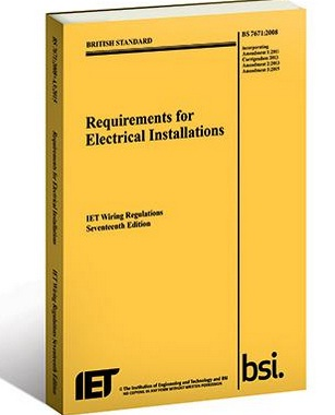 the wiring regs are counterfeited beware says the rh voltimum co uk FMCSA Regulations Book IEE Electrical Code Regulation