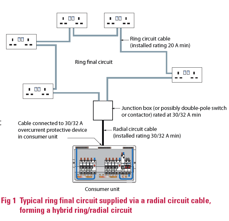 hybrid_ring_radial_final_circuits_1_3 common issues relating to hybrid ring radial final ring circuit diagram at soozxer.org