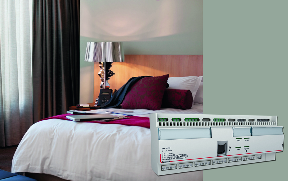 Legrand's new hotel system puts users in control  