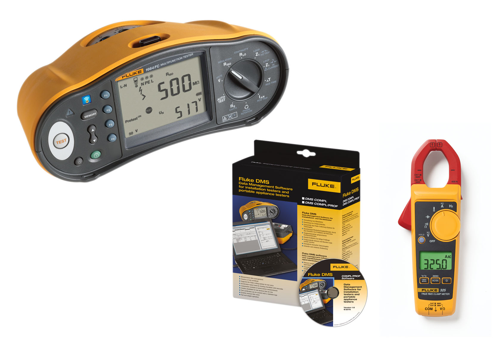 Fluke offers two Multifunction Installation Testers