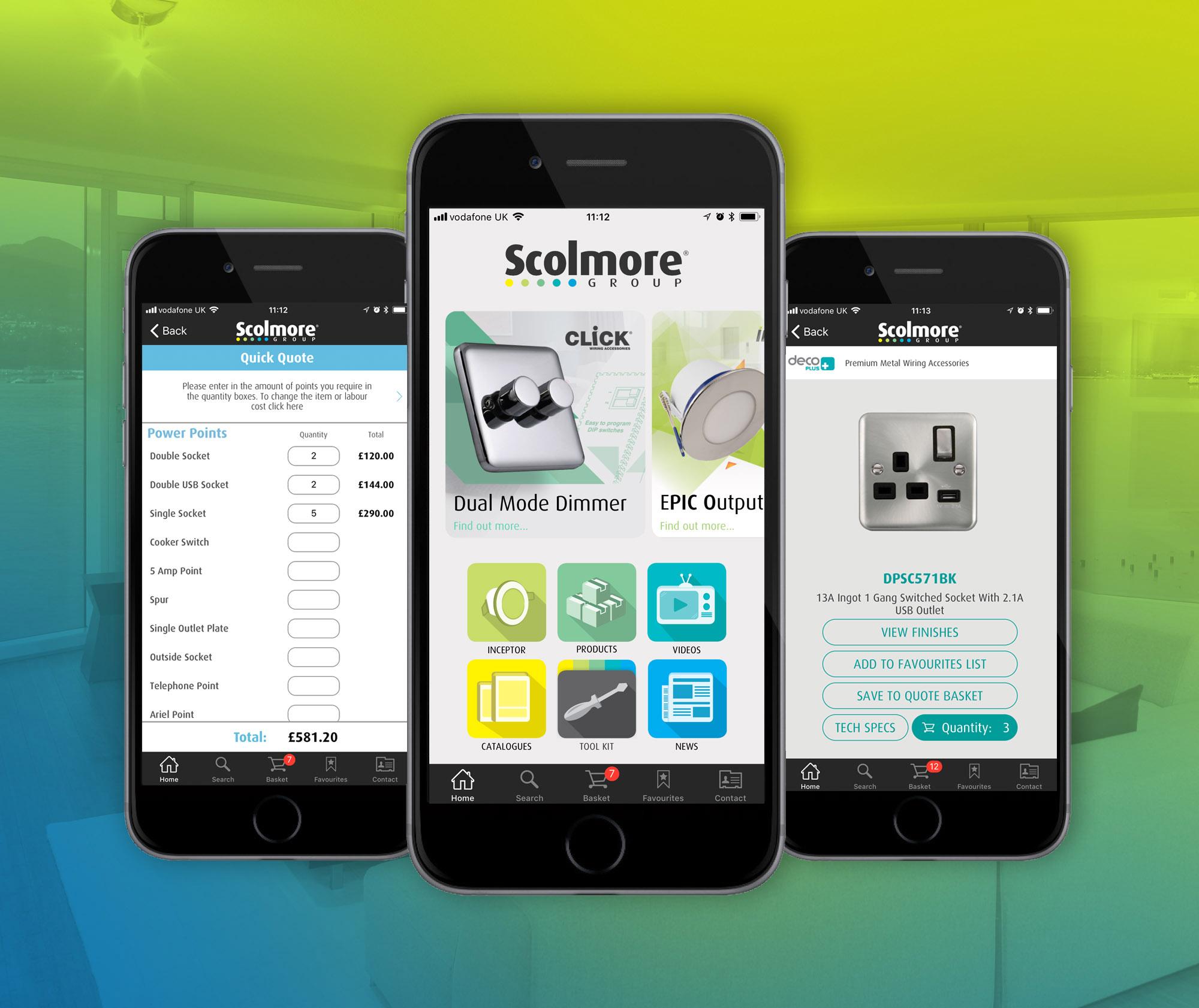 Scolmore app | Voltimum UK