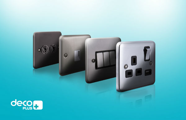 Scolmore Launches Deco Plus Wiring Accessories Range