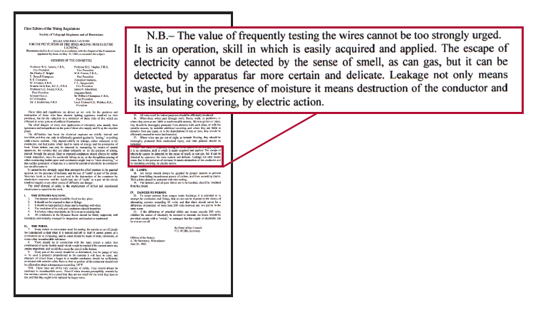 17th edition wiring regs