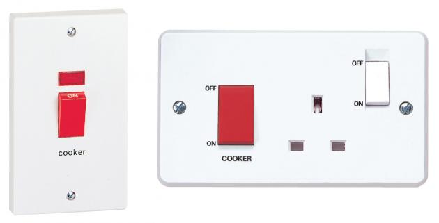 Installation Of Cooker Switches And Cooker Control